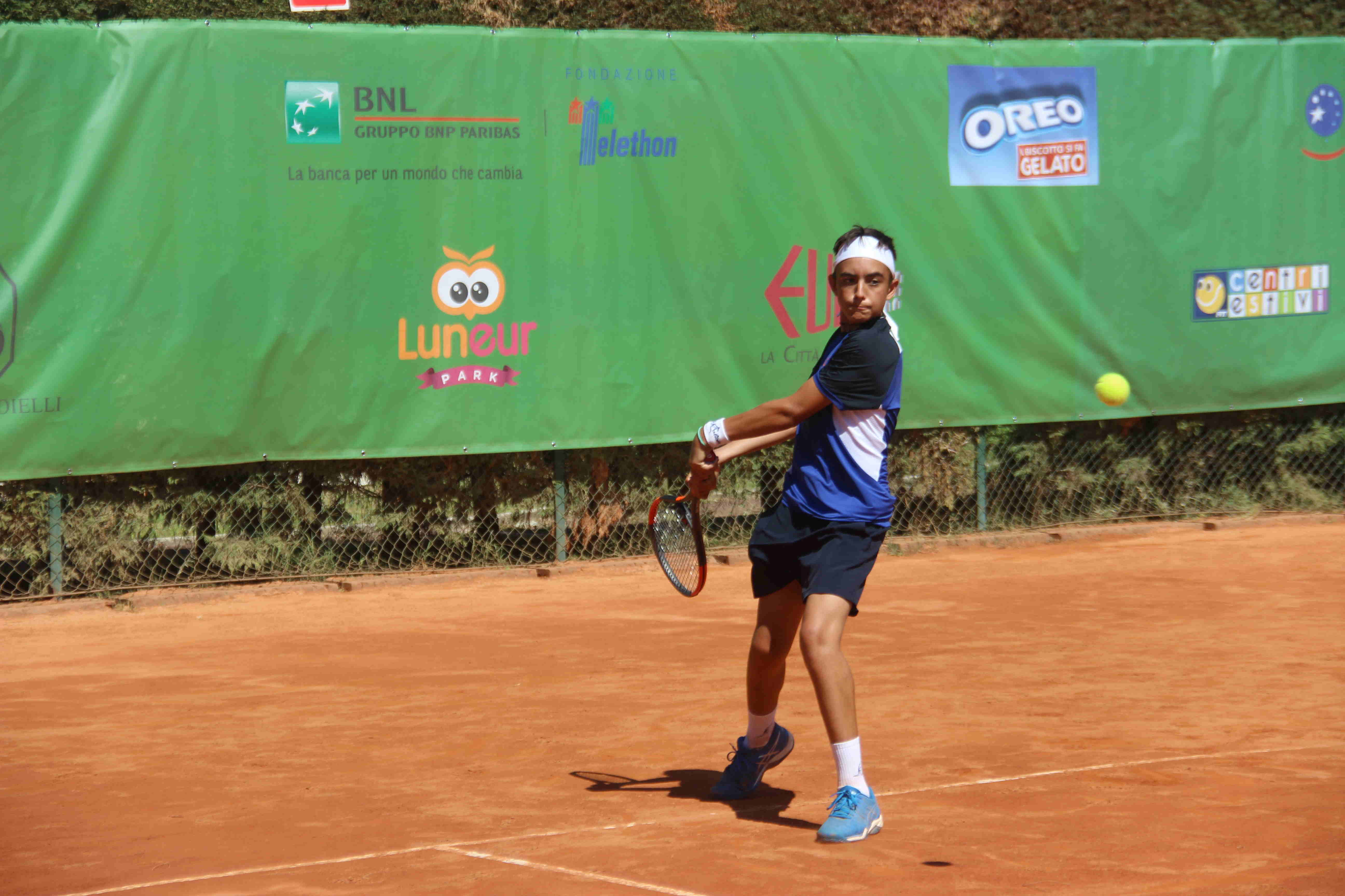 bonaiuti giuseppe tennis under 14