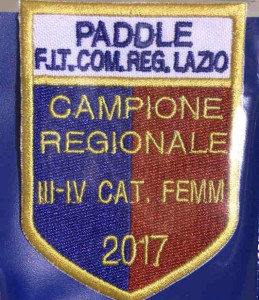 (Lo scudetto di campionesse Regionali di Paddle vinto dalle nostre Chiara Azzolini e Denise Porfidia)